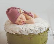 Одеяльце для съемки новорожденных с бахромой